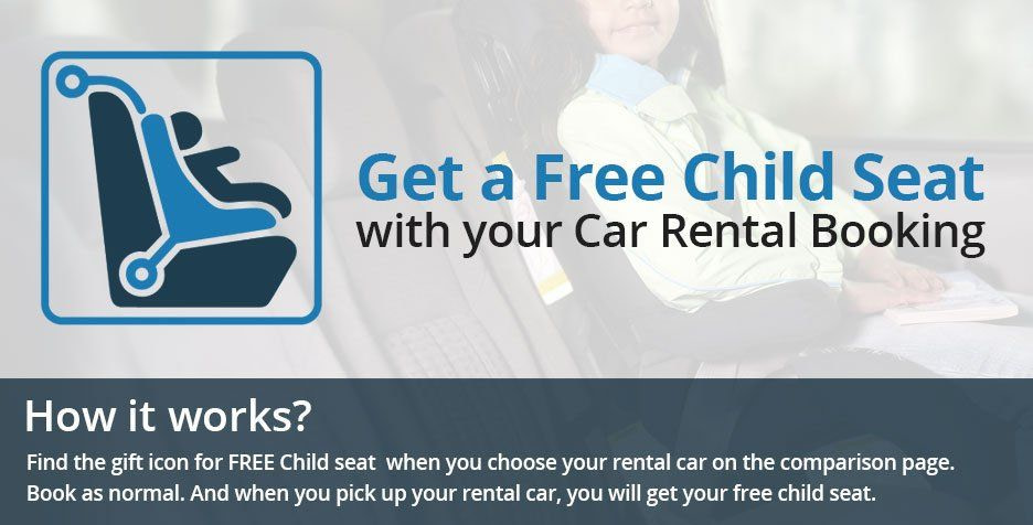 Free Child Seat Car Hire Deal