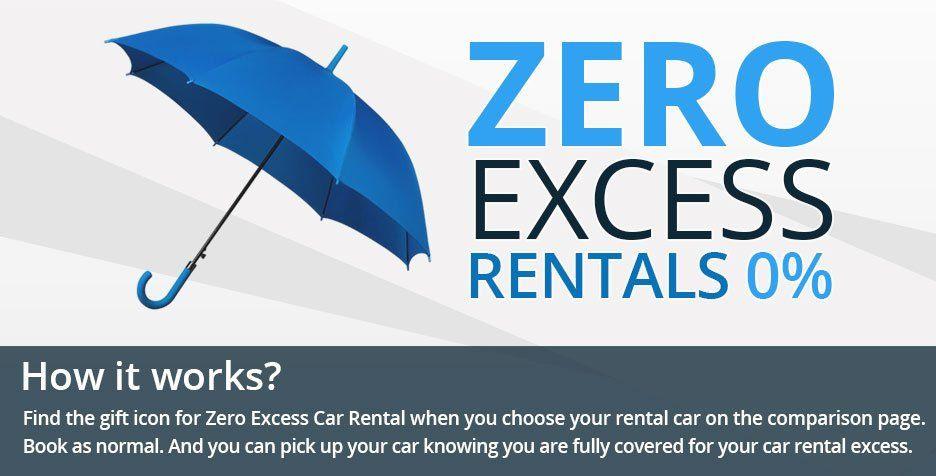 Car Rental Deals, Car Rental Special Offers, Zero Excess Rental