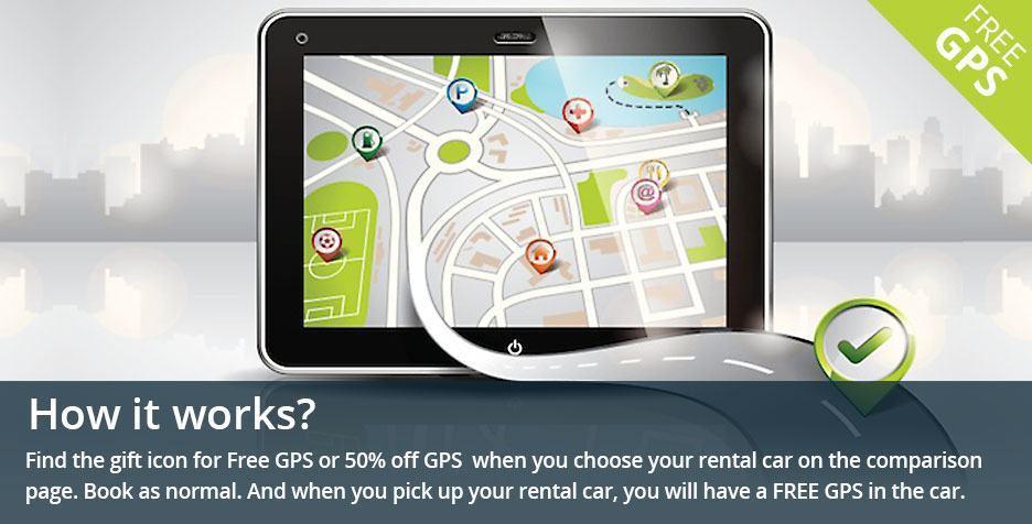 Car Rental Deals, Car Rental Special Offers, Free GPS