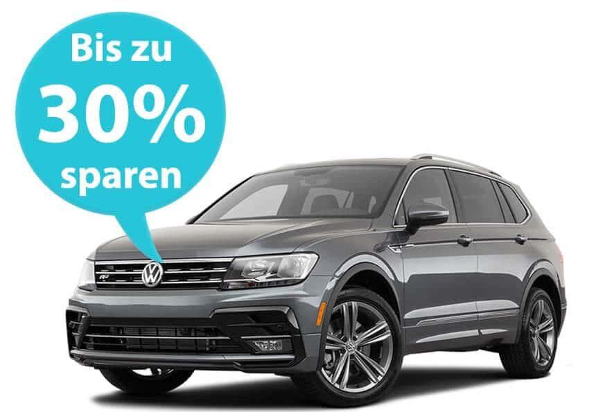 Mietwagen Preisvergleich, Sparen Sie bis zu 30%