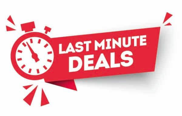 Last Minute Car Rental Deals