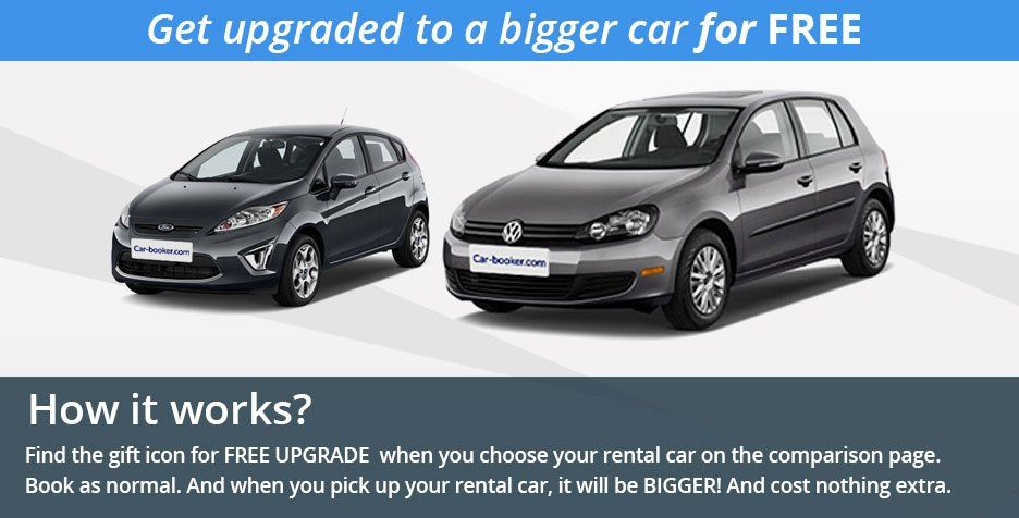 Free Upgrade Car Hire Deal