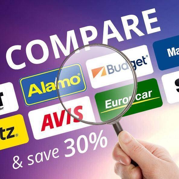 Mietwagen Preisvergleich, bis zu 30% sparen