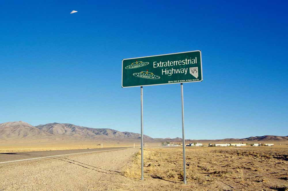 Road trip from Las Vegas to Area 51
