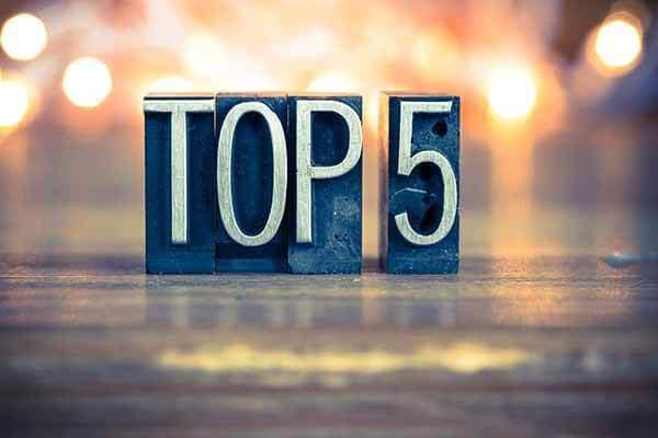 Car Rental Top 5