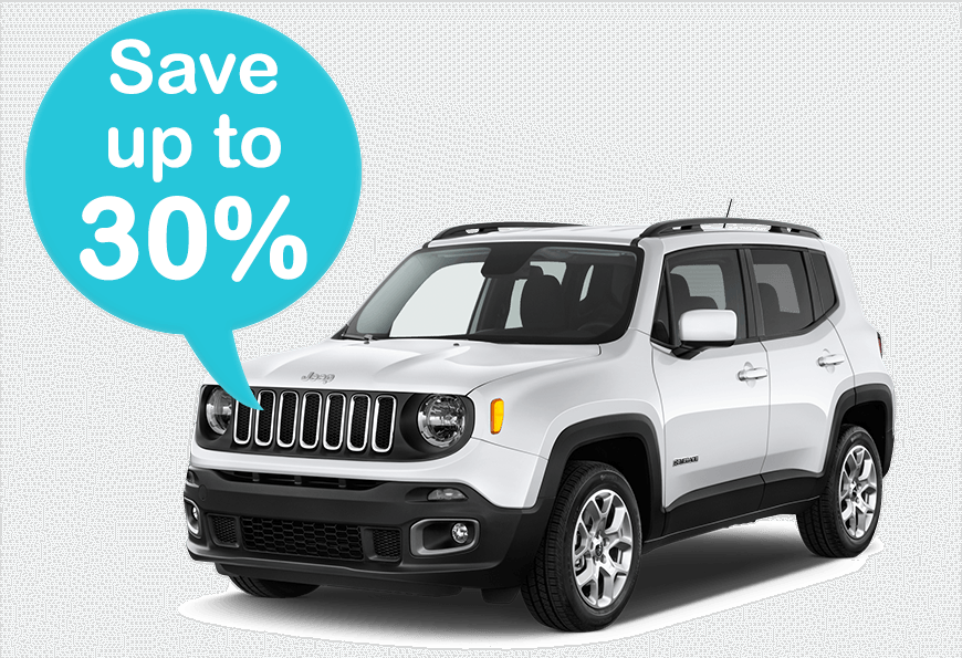 Car Rental Save up to 30%